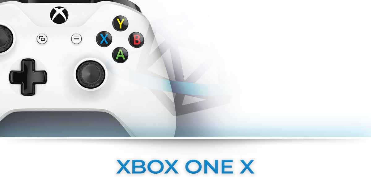 XBOX ONE X TUTTE LE NEWS