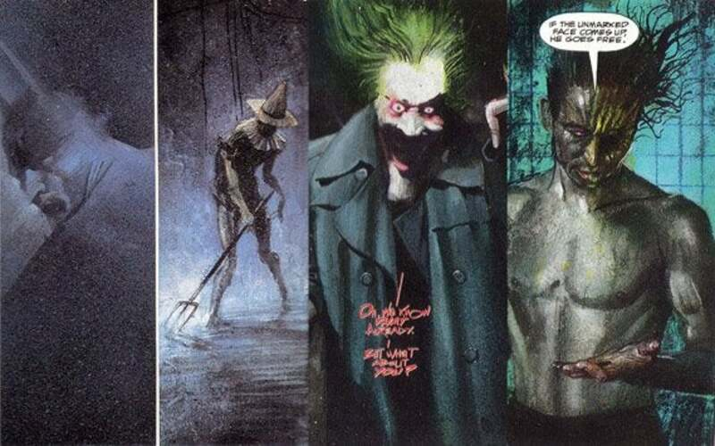 arkham asylum graphic novel