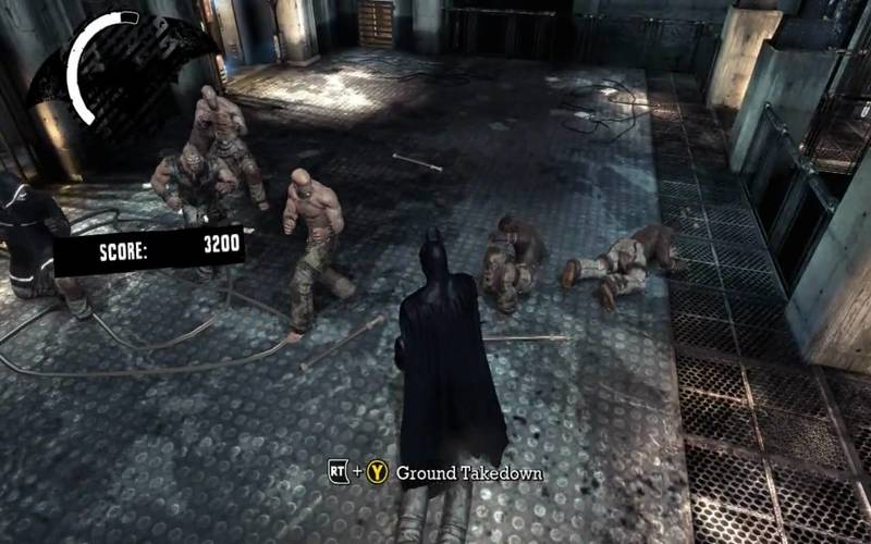 arkham gameplay 4