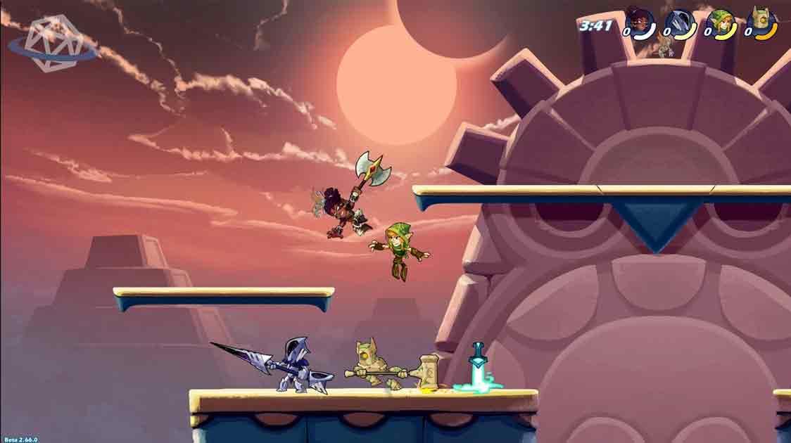 brawlhalla-gameplay-quando la mitologia nordica incontra smash
