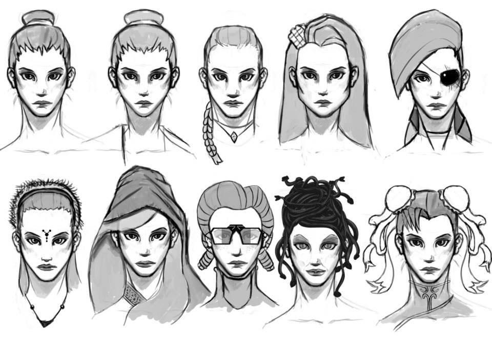 Alcune variazioni sul tema per la scelta di un volto