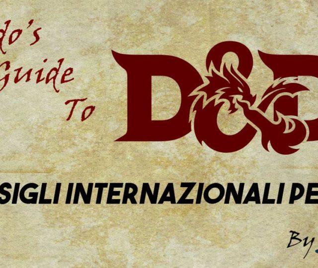 Consigli DM D&D