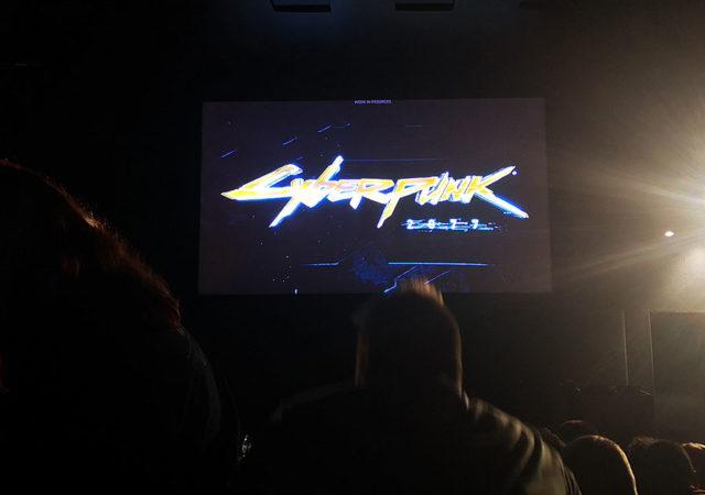 la demo di cyberpunk 2077 alla gamescom