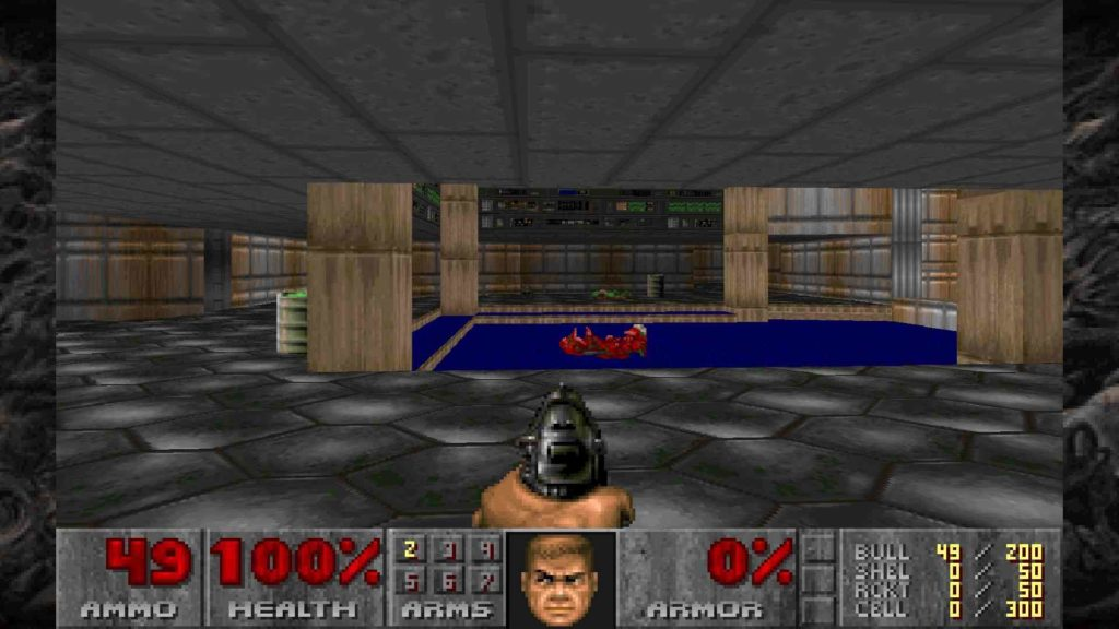 Doom 1 first level ps4