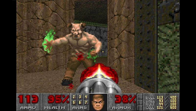 Doom II, uscito nel 1994