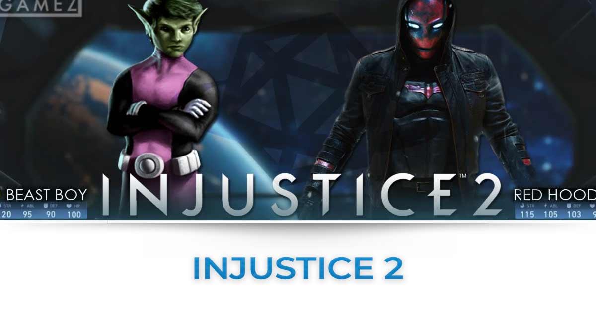 injustice 2 tutte le news