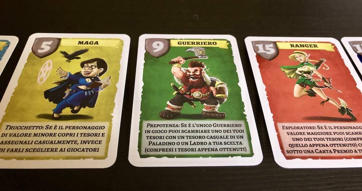 Guildraft - personaggi