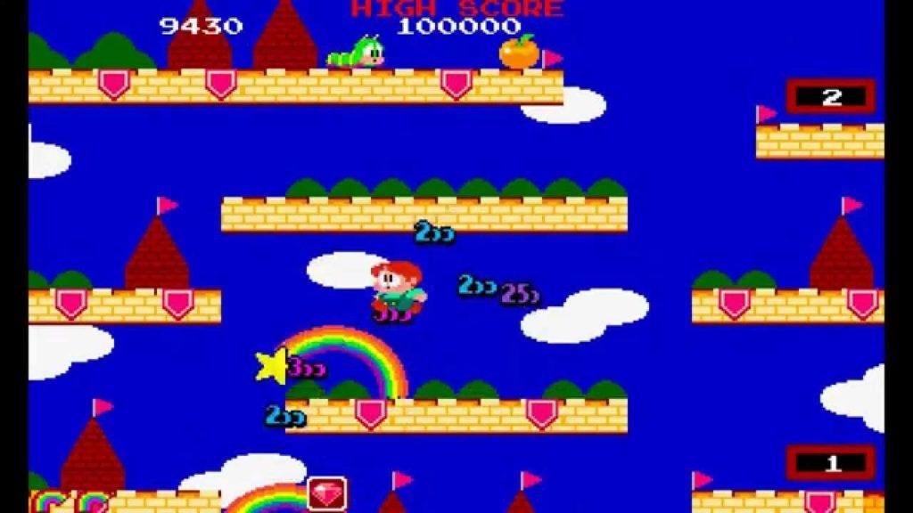rainbow island extend screen