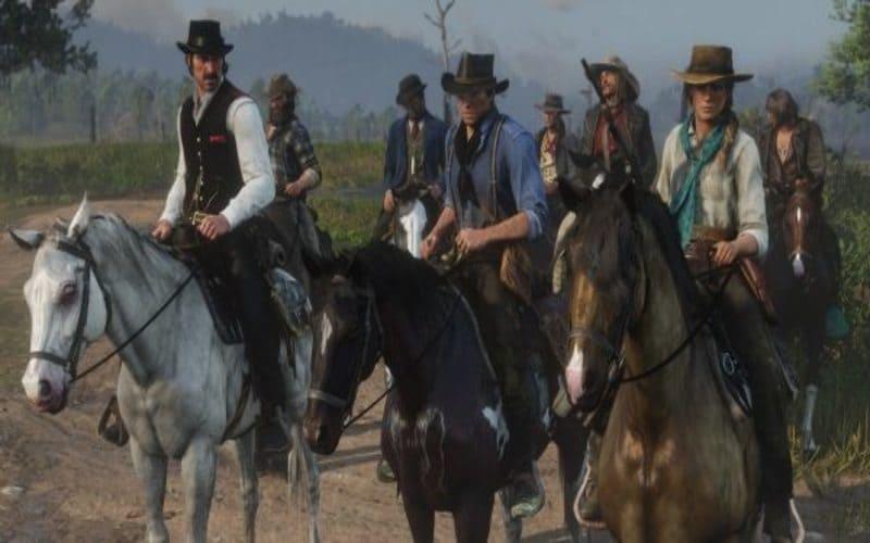 red-dead-redemption-2 cavalli