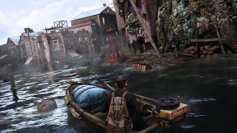 the sinking city, città di Oakmont