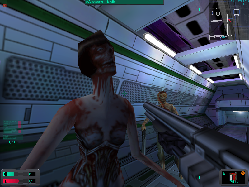 system shock 2 enemy