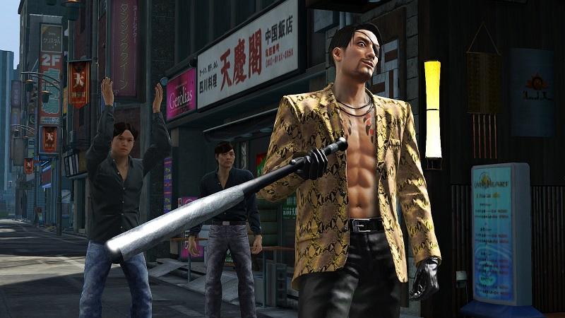 la serie yakuza in breve