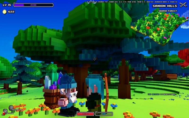 Un'altra screen di Cube World