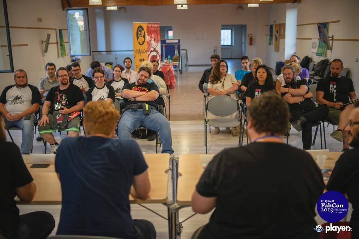 Conferenza stato gioco di ruolo italiano Fabcon 2019