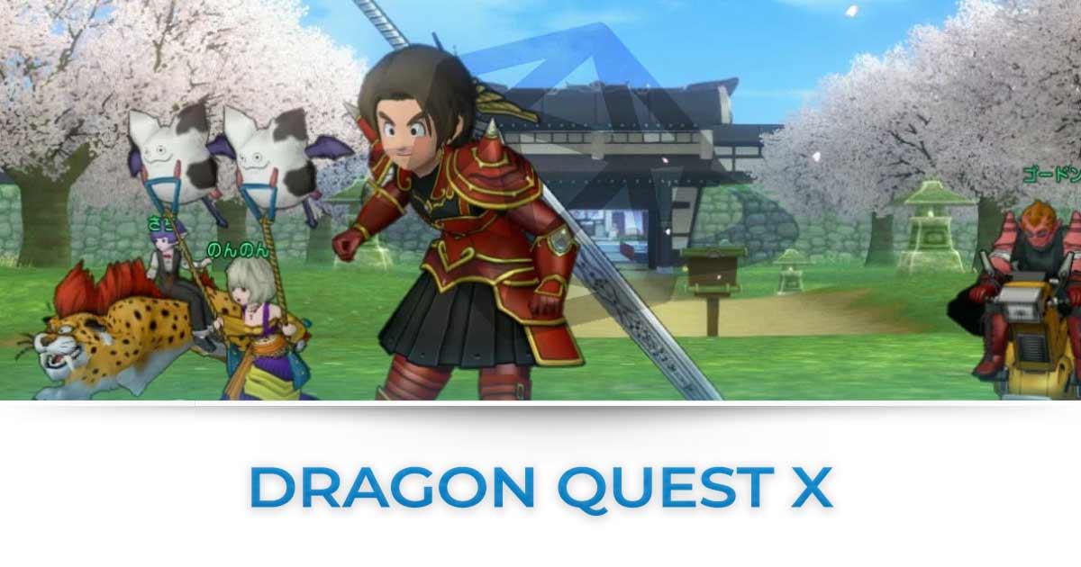 Dragon Quest X : Tutte le news