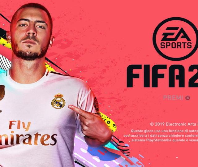 FIFA 20 copertina