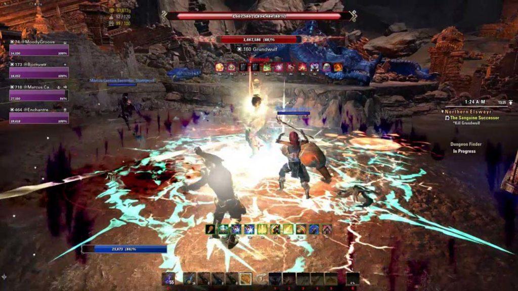 Gli effetti delle spell in The Elder Scrolls Online