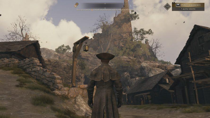Una sezione di esplorazione in GreedFall