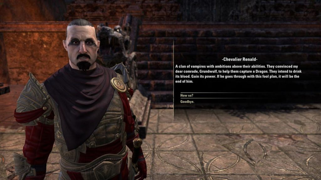 I Dragonguard in The Elder Scrolls Online, antenati delle Blades di Skyrim