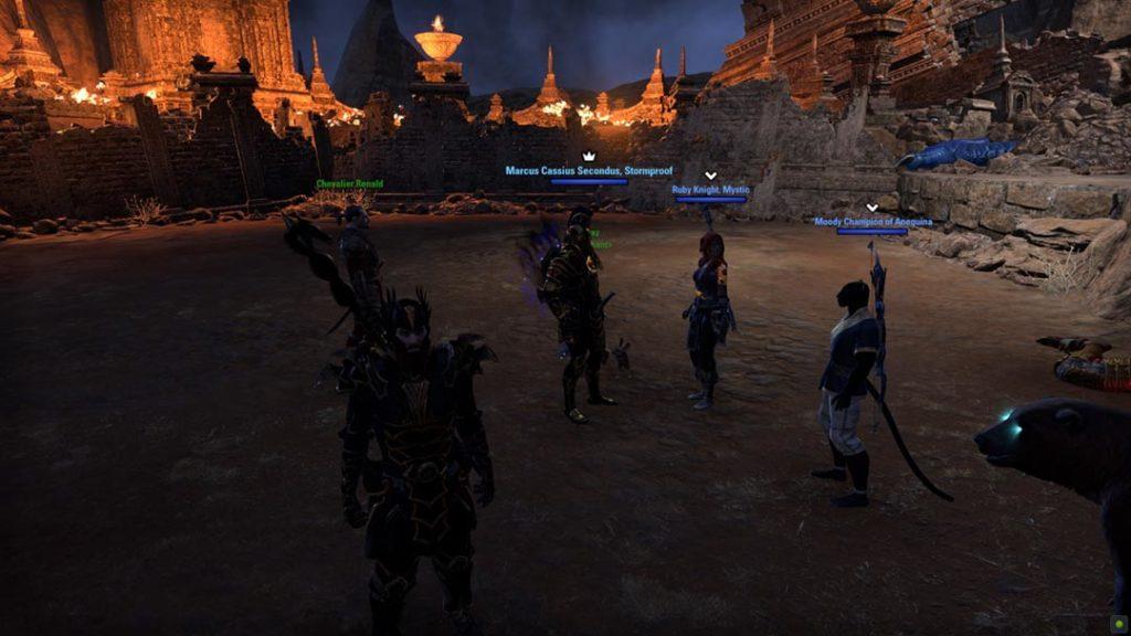 Il mio party per il dungeon Moongrave Fane