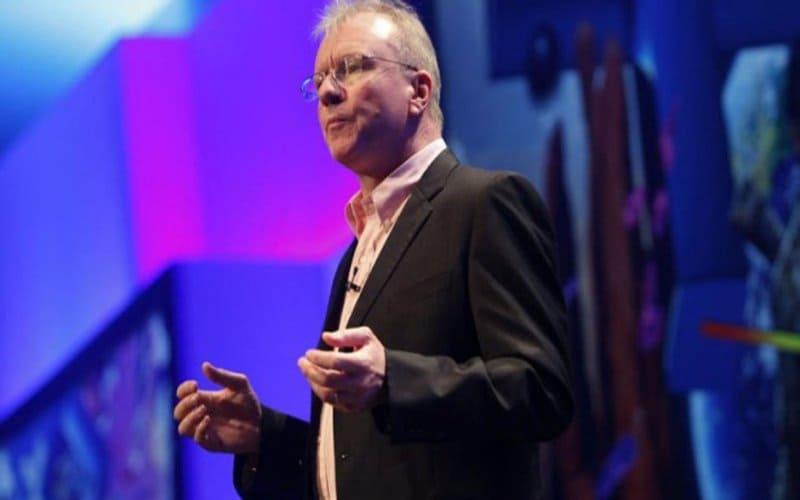 Una fotografia di Jim Ryan, capo della divisione PlayStation di Sony