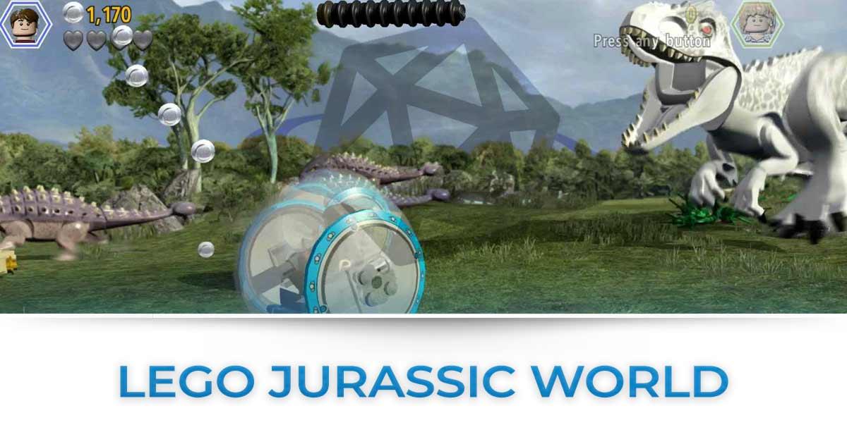 Tutte le news su Lego Jurassic World