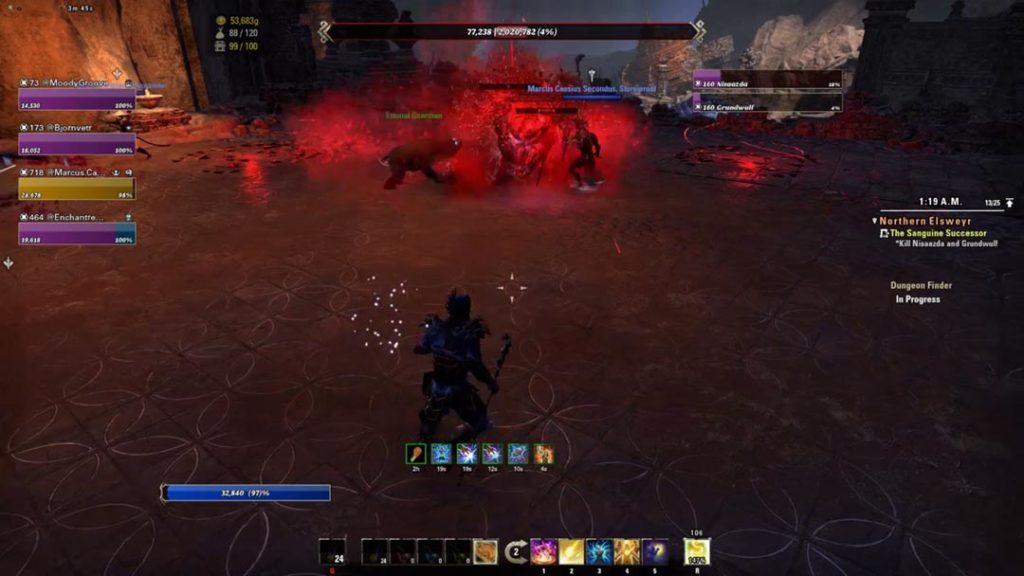 La meccanica dei Blood Orb in Moongrave Fane
