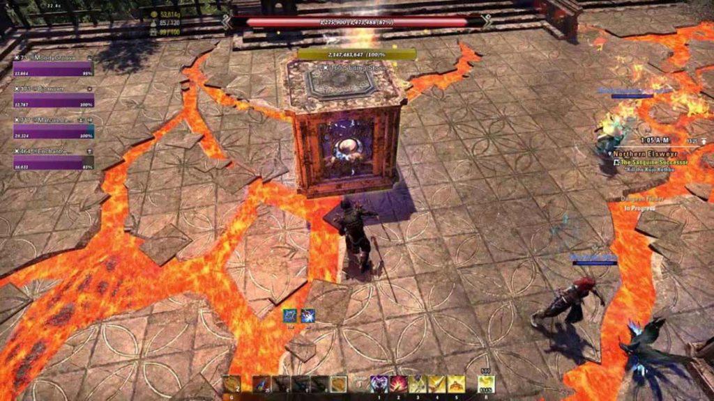 La meccanica delle casse di Moongrave Fane, The Elder Scrolls Online