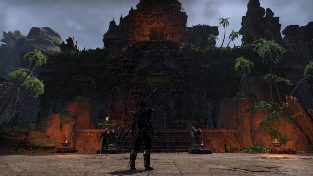 L'ingresso di Moongrave Fane