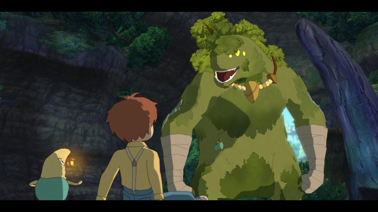Ni no Kuni La minaccia della Strega Cinerea™ Remastered boss guardiano della foresta