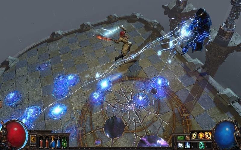 Una screen dell'espansione War for the Atlas di Path fo Exile