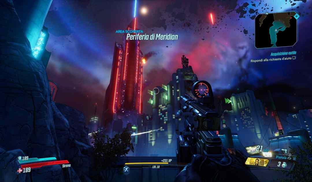 Borderlands 3 Screenshot Meridia