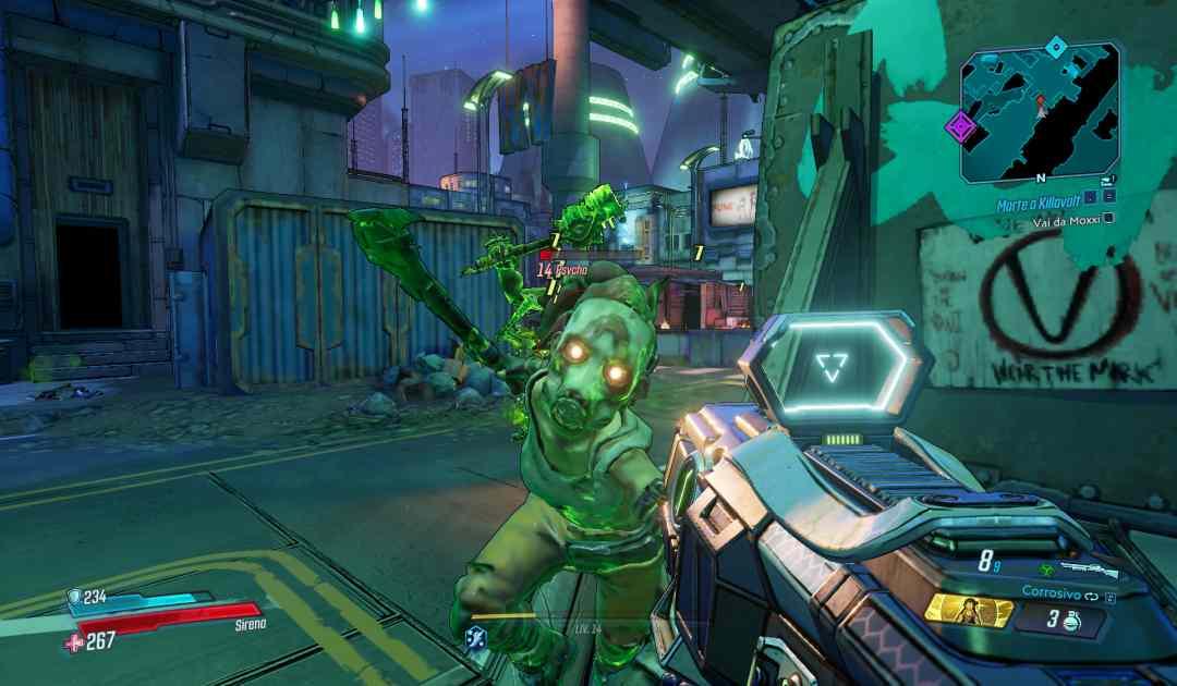 Borderlands 3 screenshot sparatoria