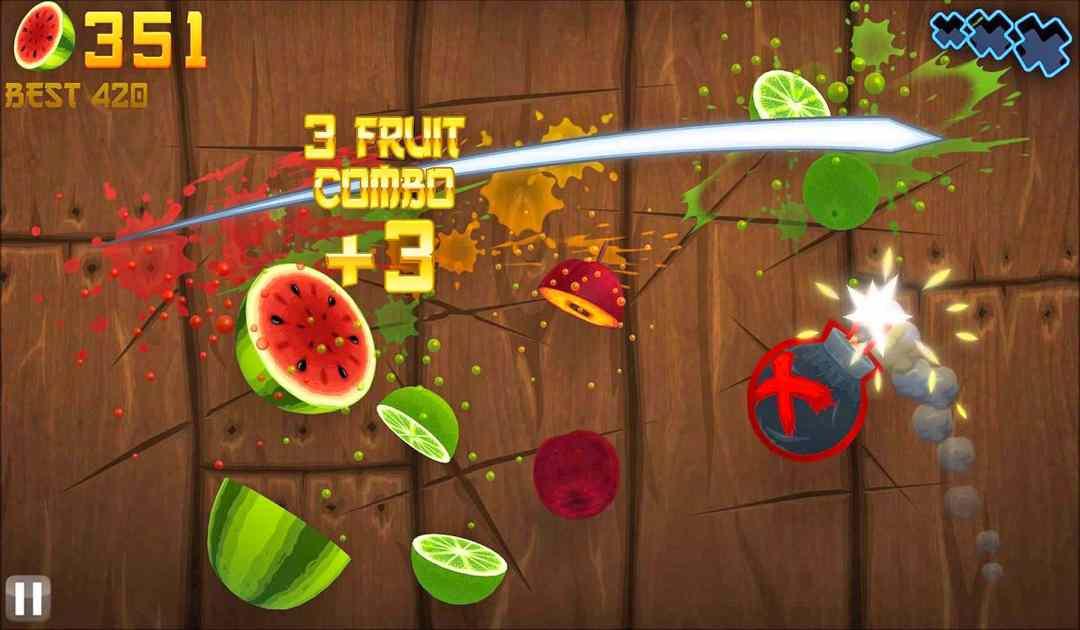 Screenshot di Fruit Ninja