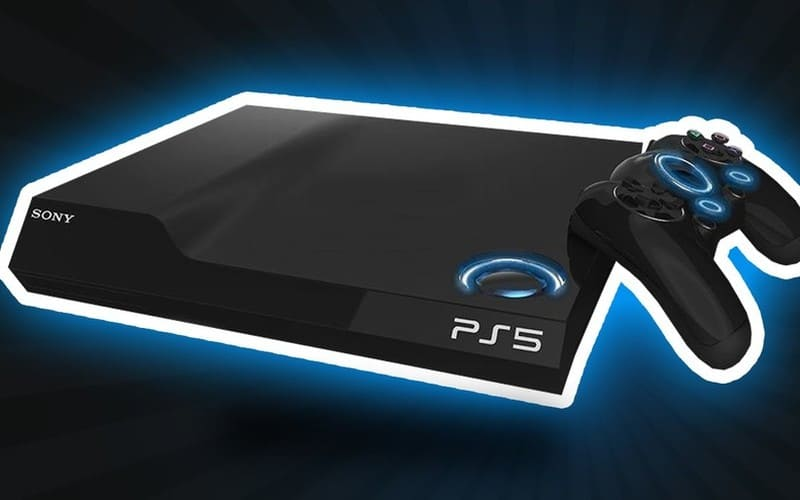 Una fotografia della PlayStation 5