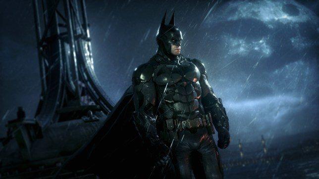 Screen da Batman Arkham Knight