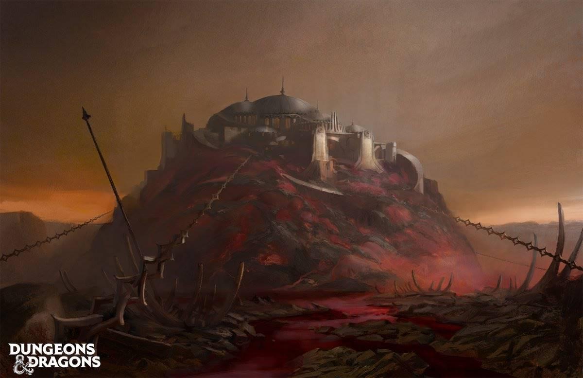 Una cittadella infernale da Baldur's Gate - Descent into Avernus