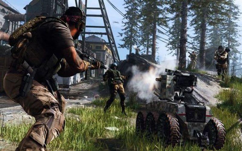 Una screen da CoD Modern Warfare