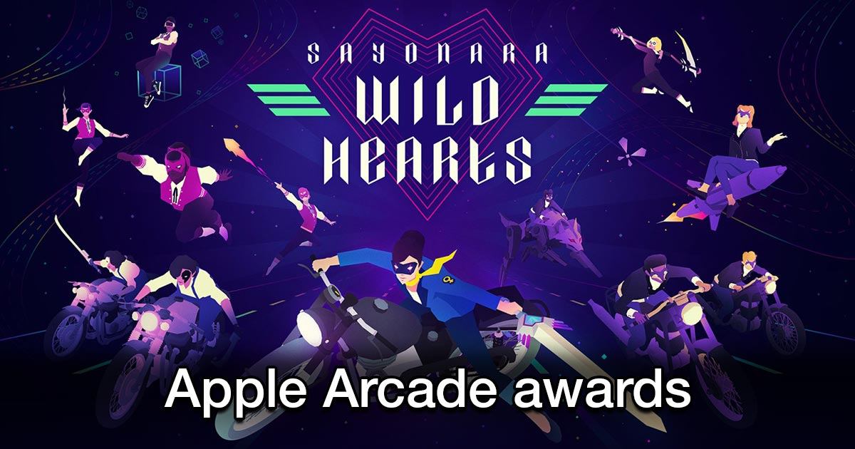 apple arcade sayonara wild hearts