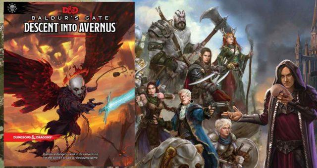 Descent into Avernus copertina