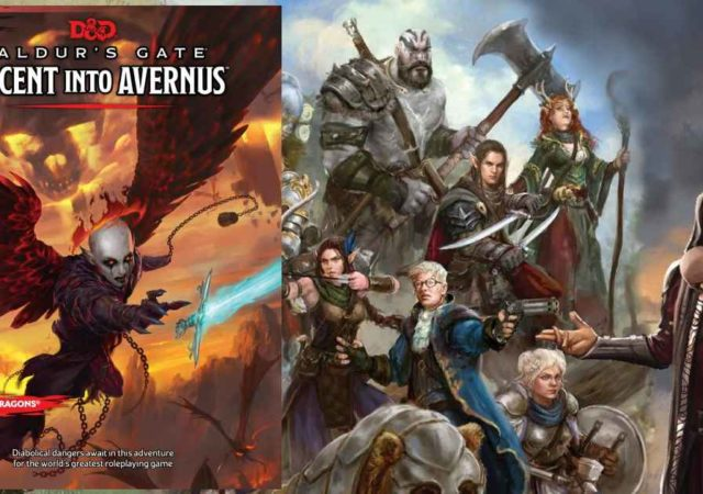 Descent into Avernus copertina