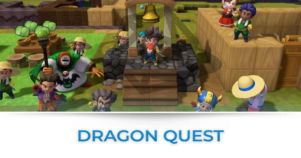 dragon quest tutte le news