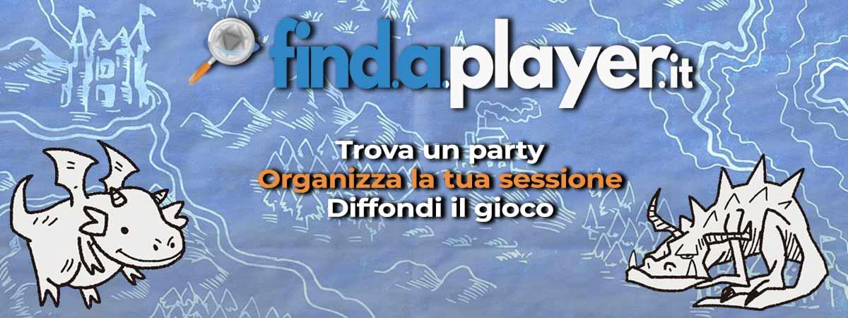 trova il tuo party, find a player