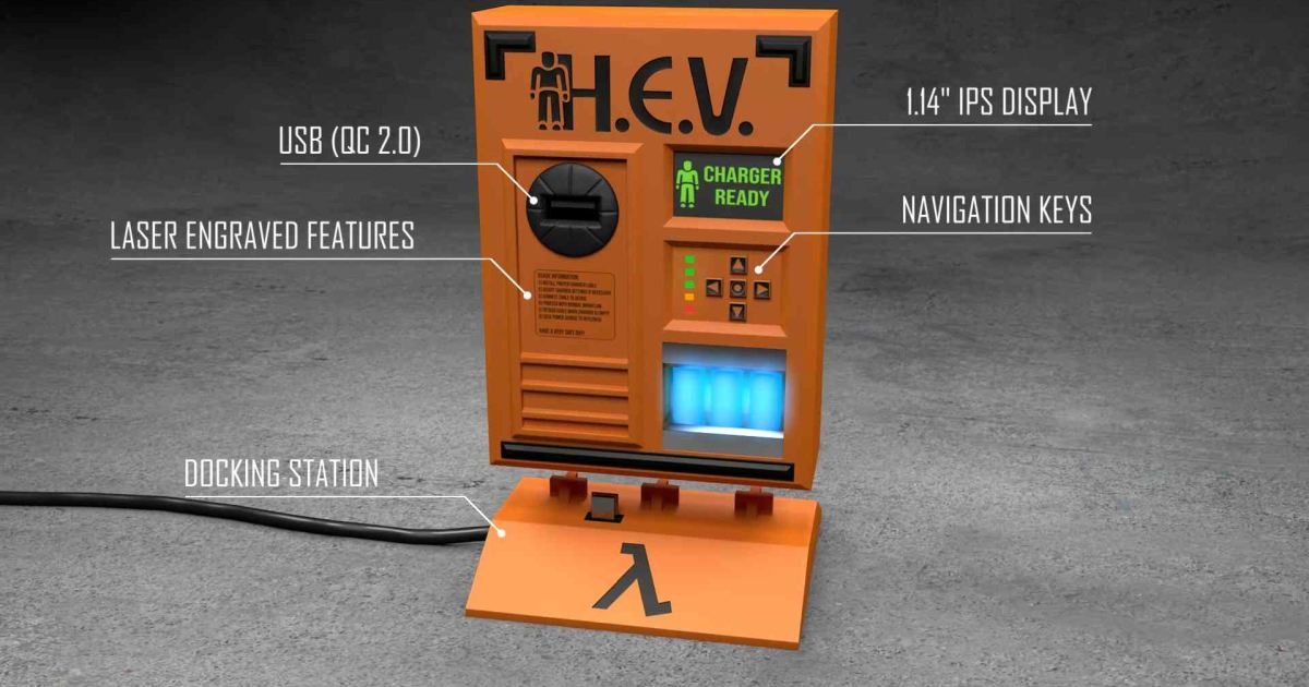 hev charger half life cover