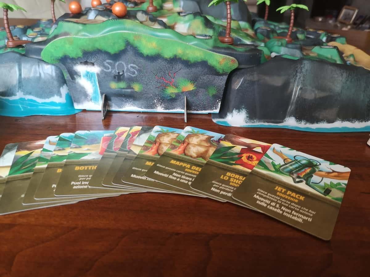 le carte souvenir che potrete incontrare nella vostra avventura