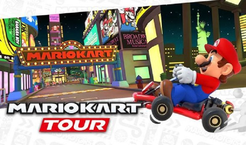 mario kart tour guida
