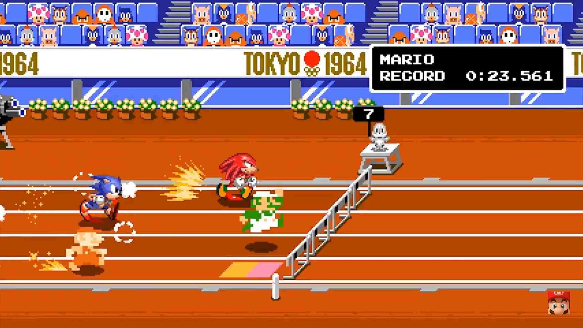 mario & sonic giochi olimpici gameplay