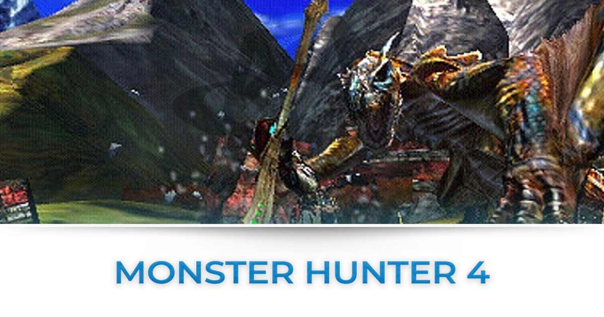 Monster Hunter 4 : Tutte le news