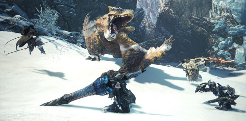 Monster Hunter World Iceborne, Tigrex, Clutch claw, rampino, come si usa, guida mostri, guida caccia iceborne