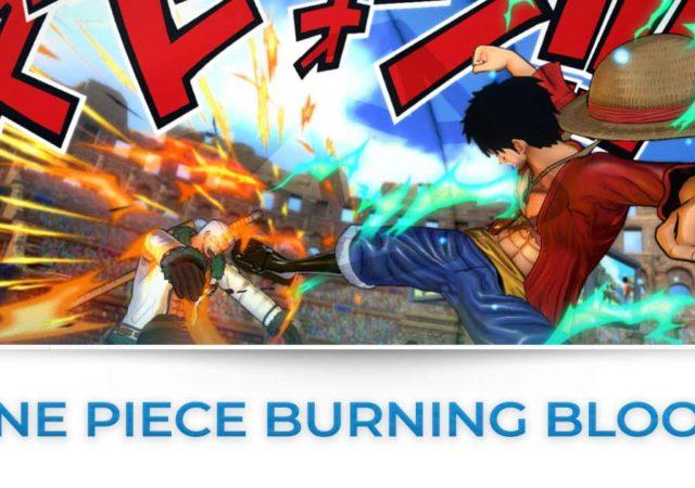 Tutte le news su One Piece Burning Blood